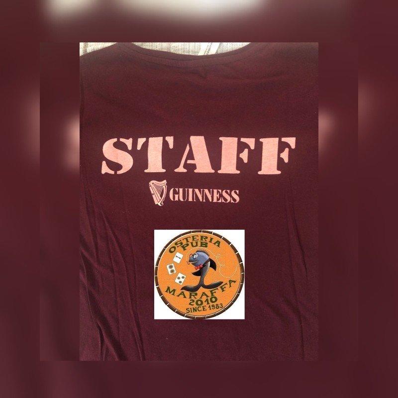 maglietta lady maraffa staff